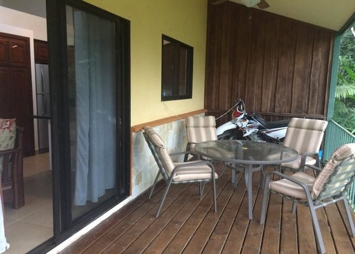 Deck from villa for sale eco village