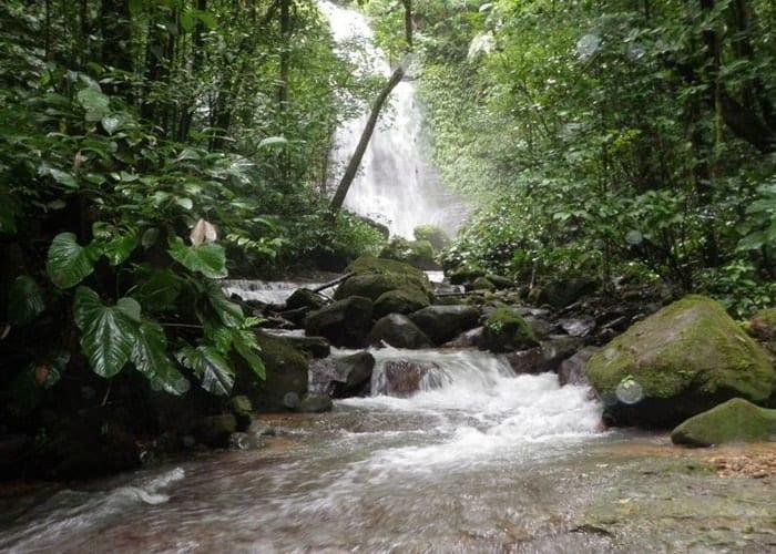 Osa Mountain Village waterfall